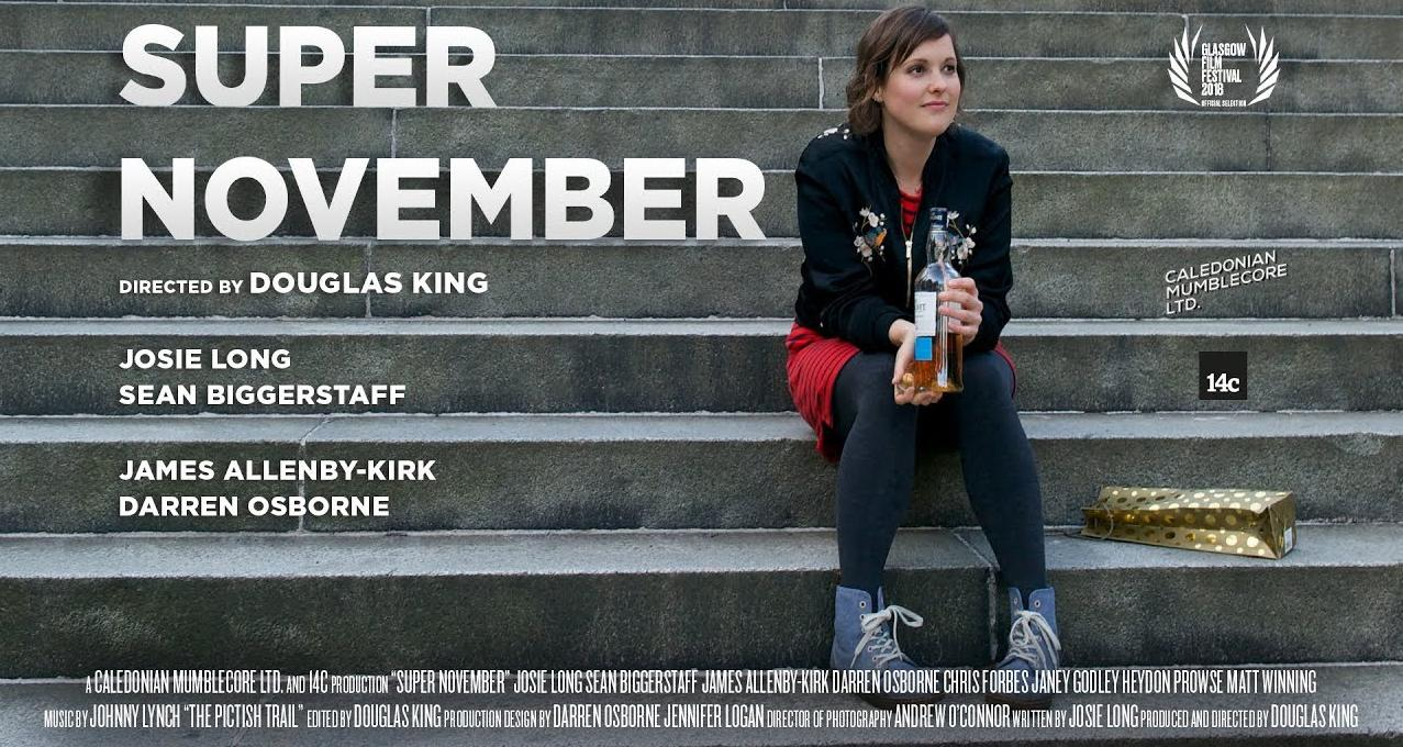 Super November debuts at Glasgow Film Festival - January 2018