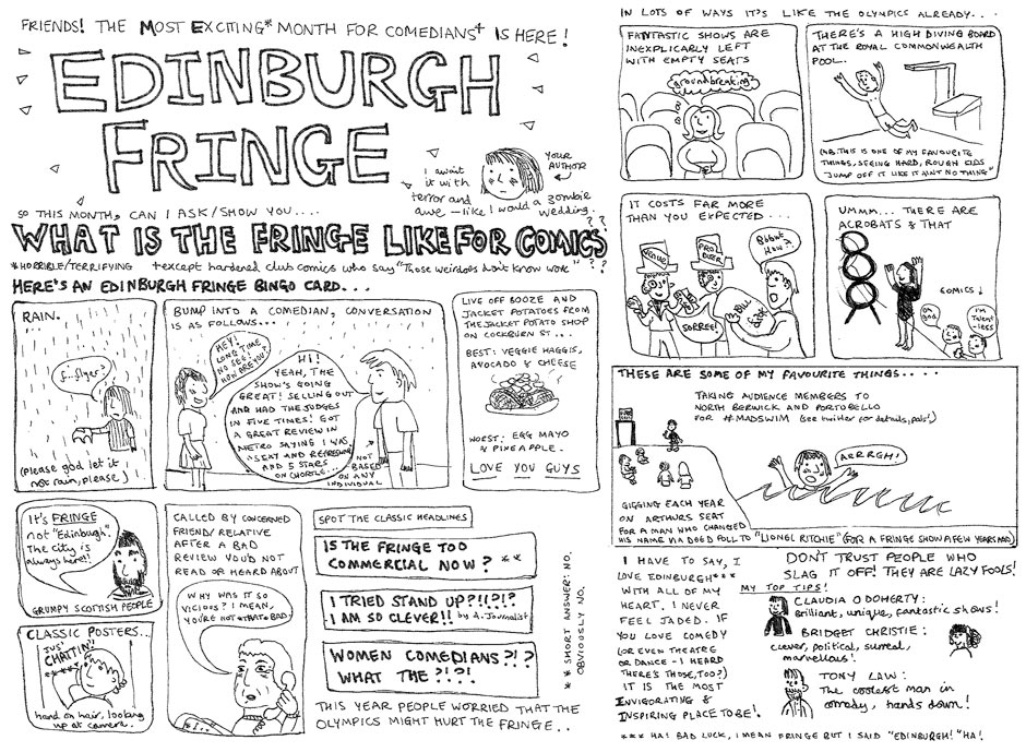 What is the fringe like for comics?
