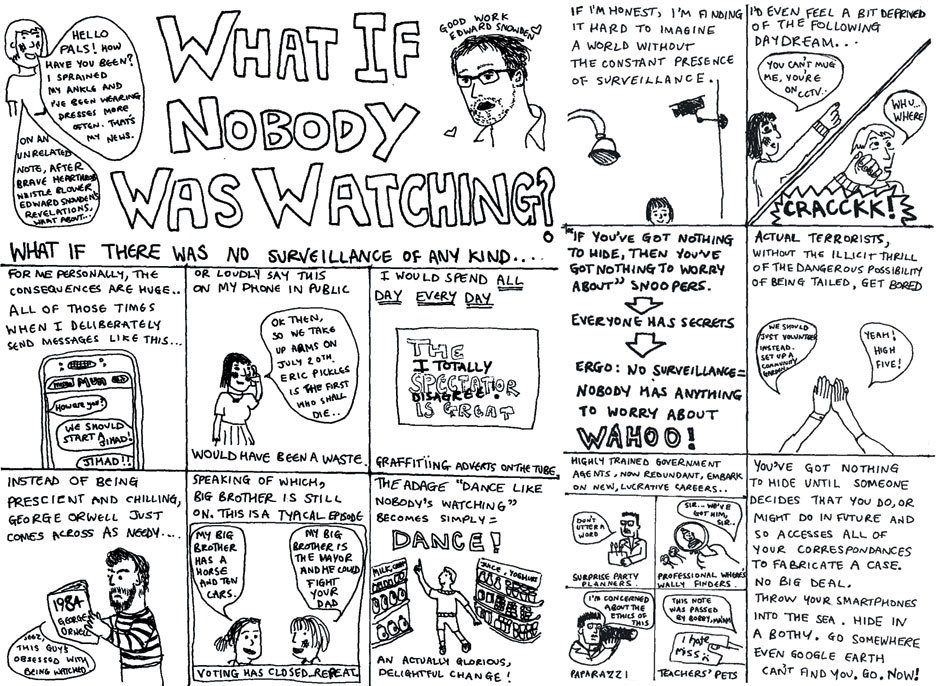 What if nobody was watching?