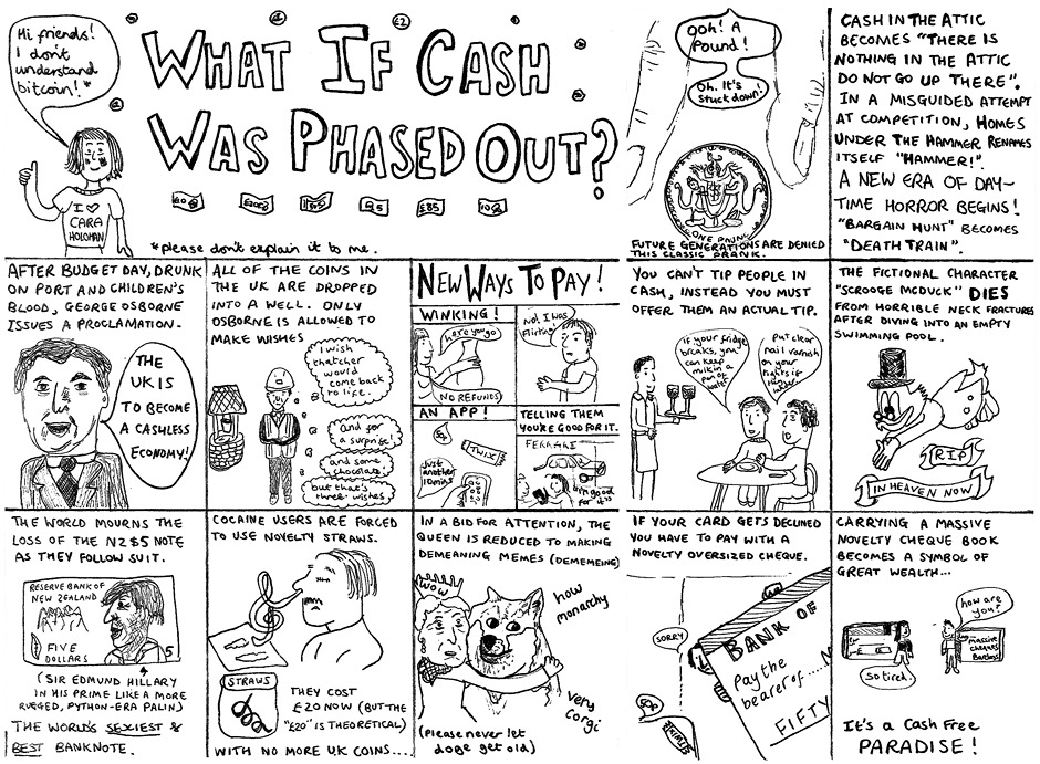 What if cash was phased out?