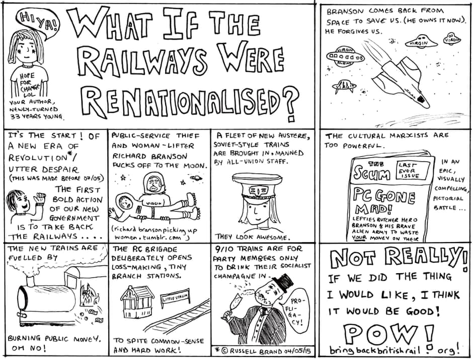 What If The Railways Were ReNationalised?