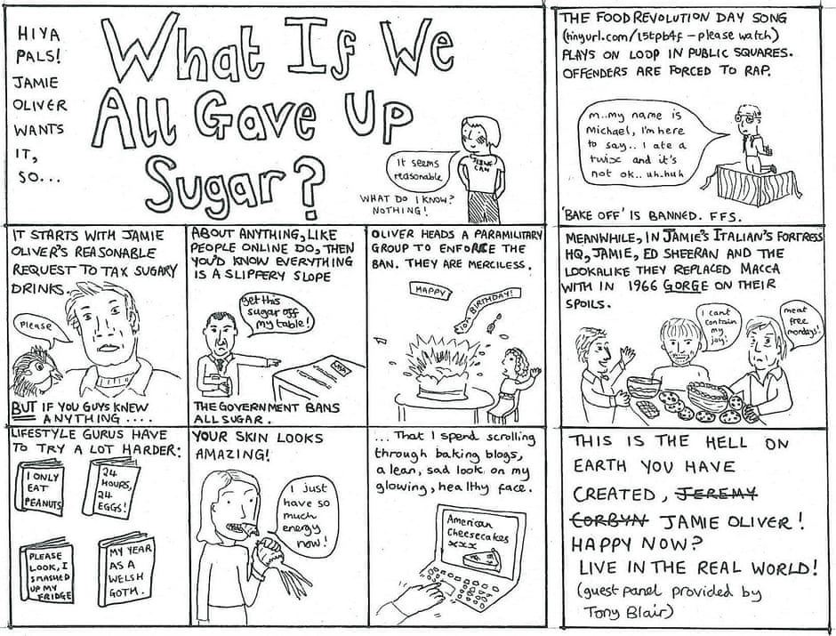 What If We All Gave Up Sugar?