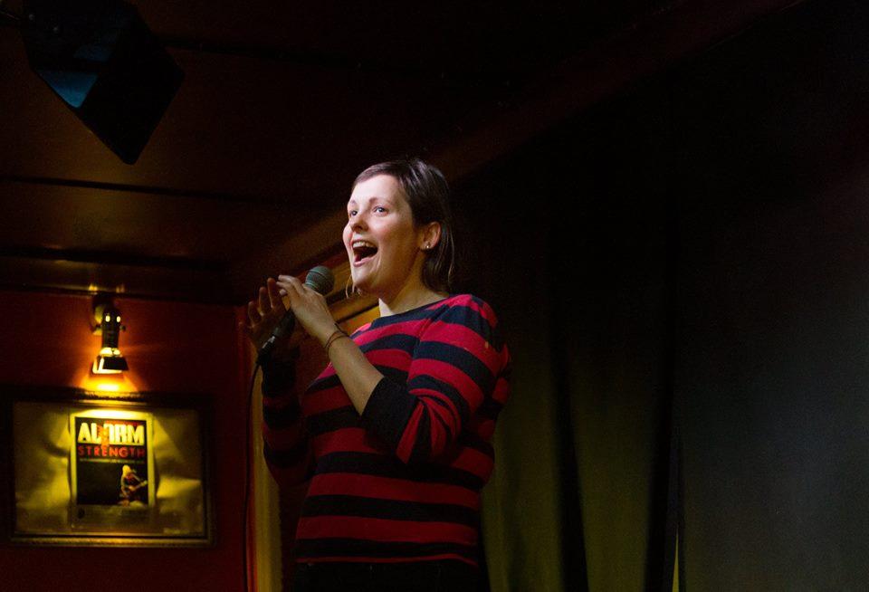 Josie On Stage