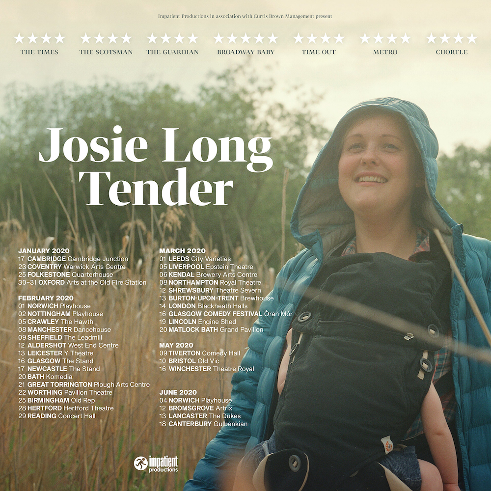 Tender – Soho Theatre & 2020 Tour! - November 2019